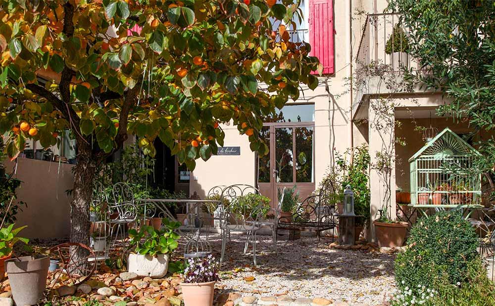 L'oréliane est un lieu de charme près d'Avignon, de Gordes ou de Saint Rémy de Provence